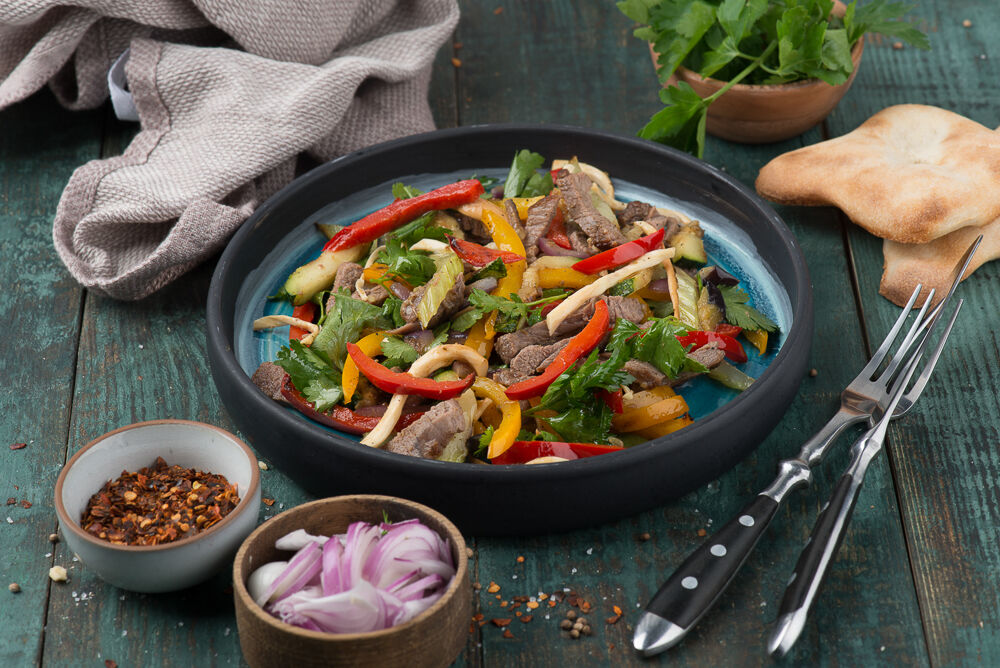 Turkey Grilled Salad
