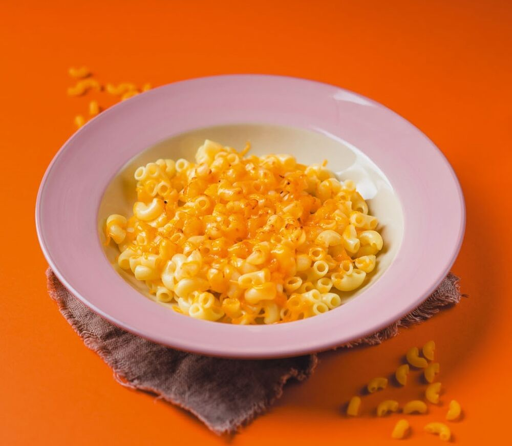 Children's pasta with cheese
