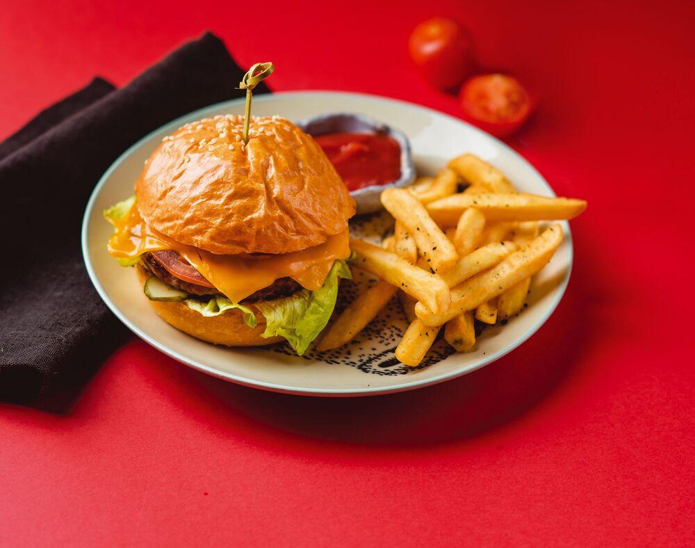 DM moco burger with chicken