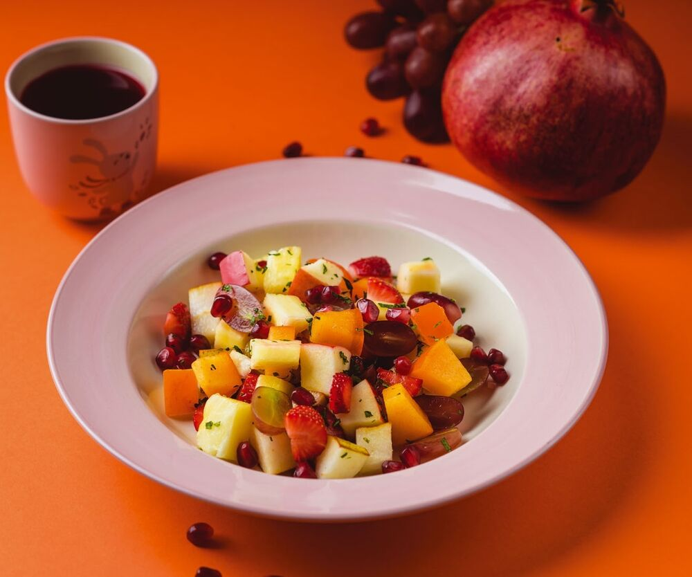 Children's fruit salad