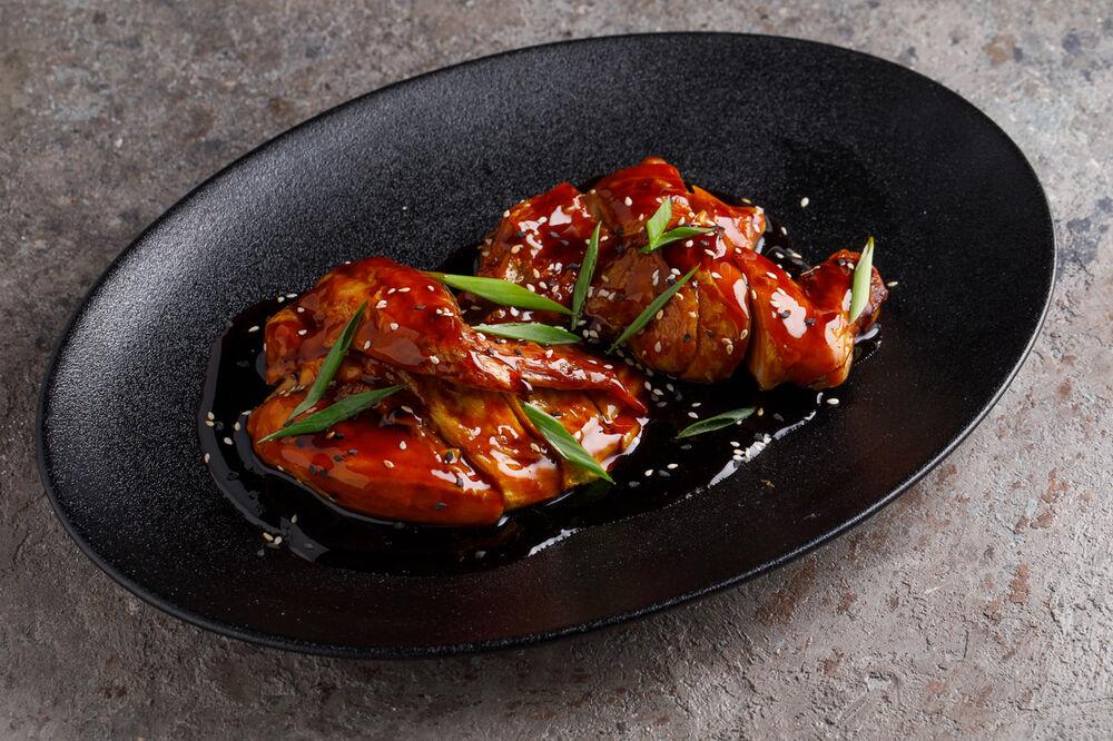 Chinese style half chicken