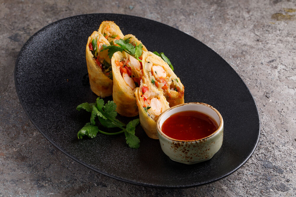 Spring roll with vegetables