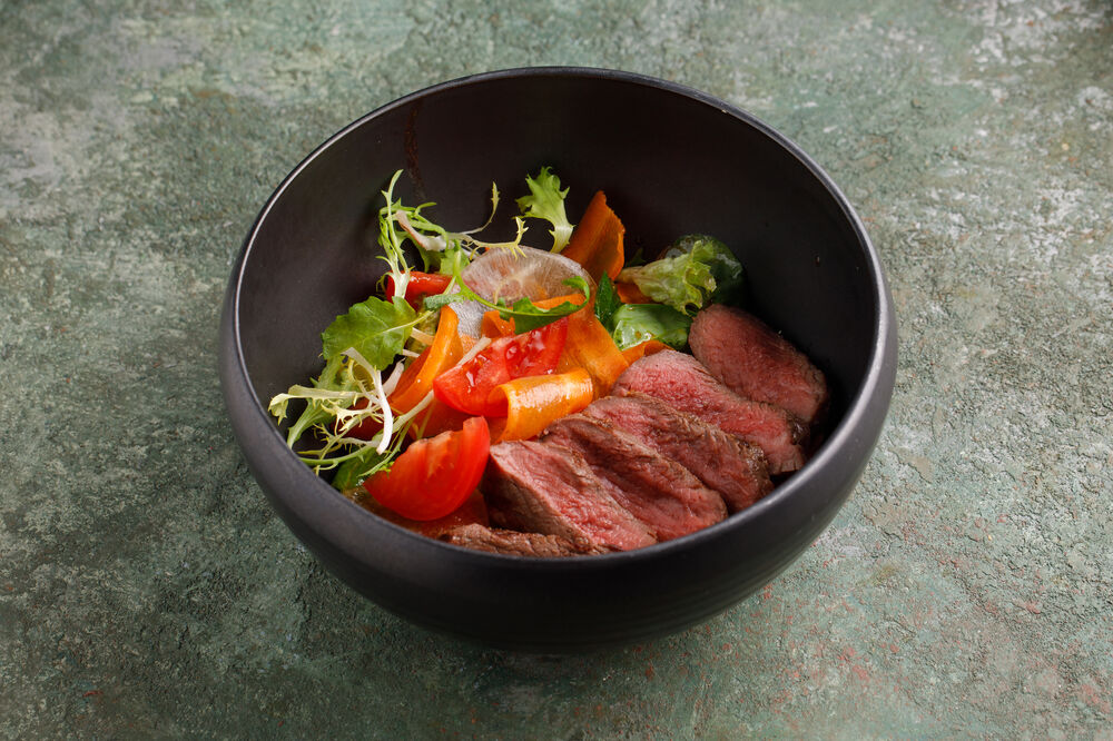 Asian style beef salad