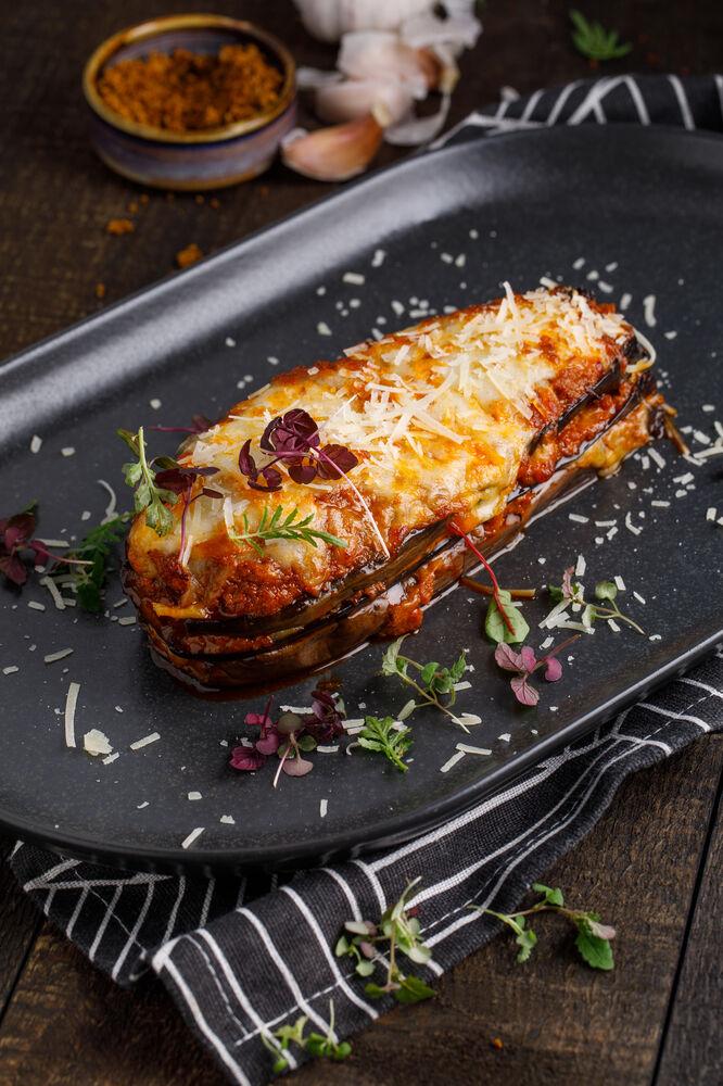 Puffed eggplant
