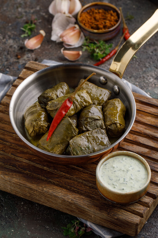 Dolma with veal