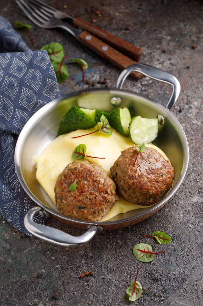 Homemade cutlets by Petrovna