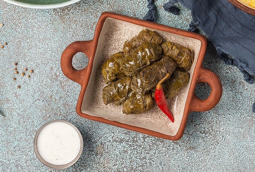Dolma with mutton