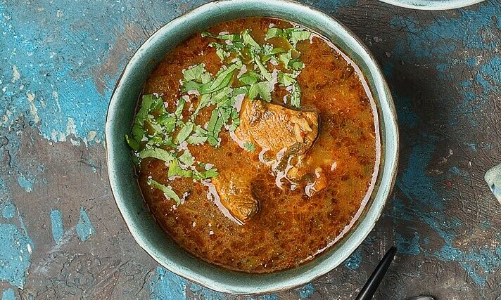 Kharcho with mutton