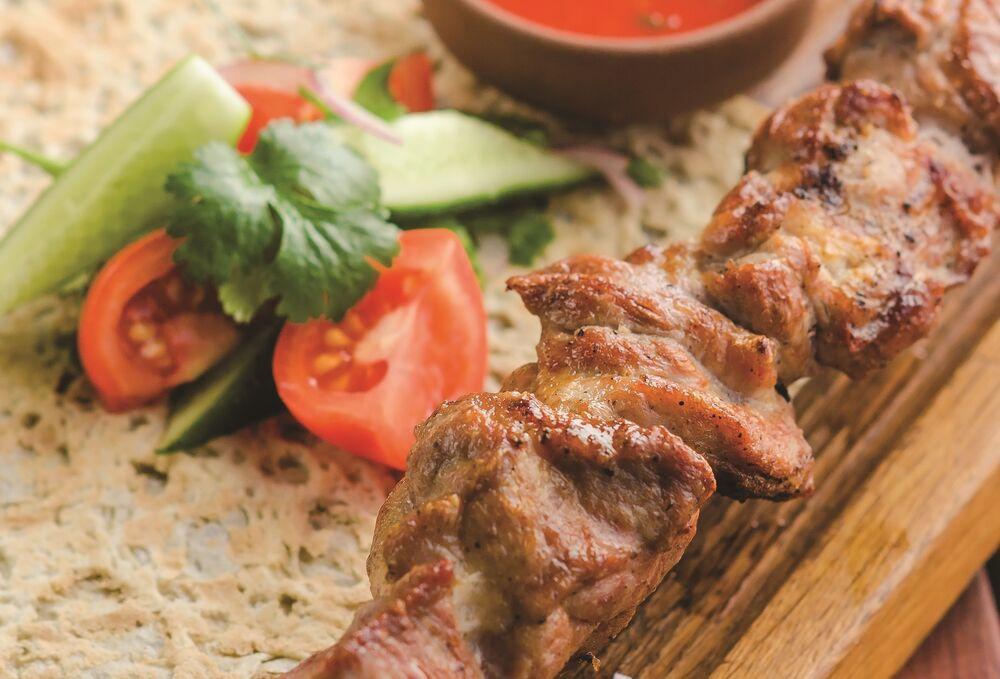 Pork shish-kebab