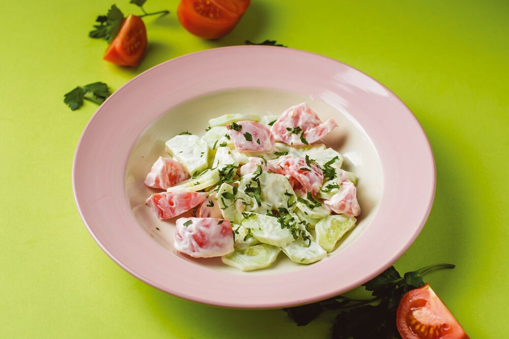 Vegetable company salad
