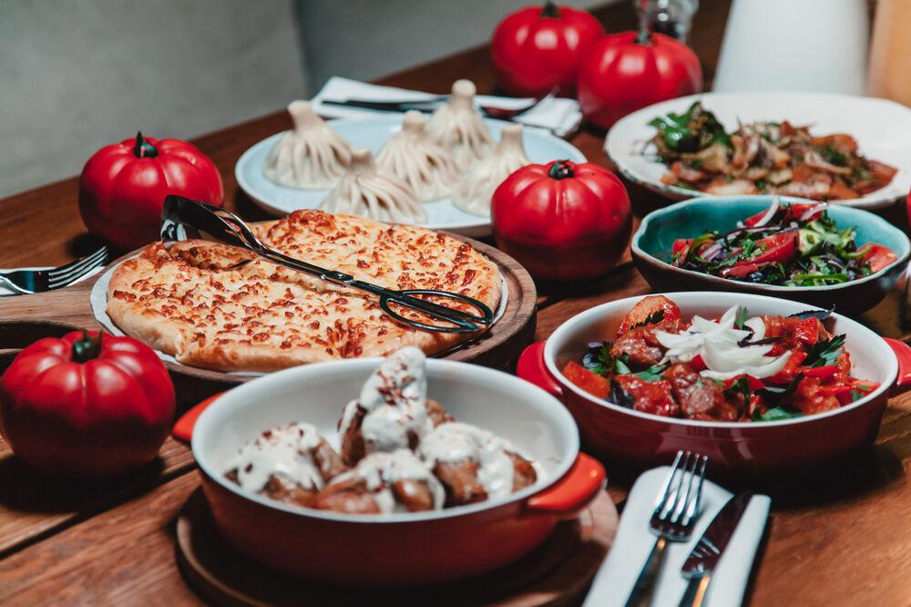 Georgian combo dinner