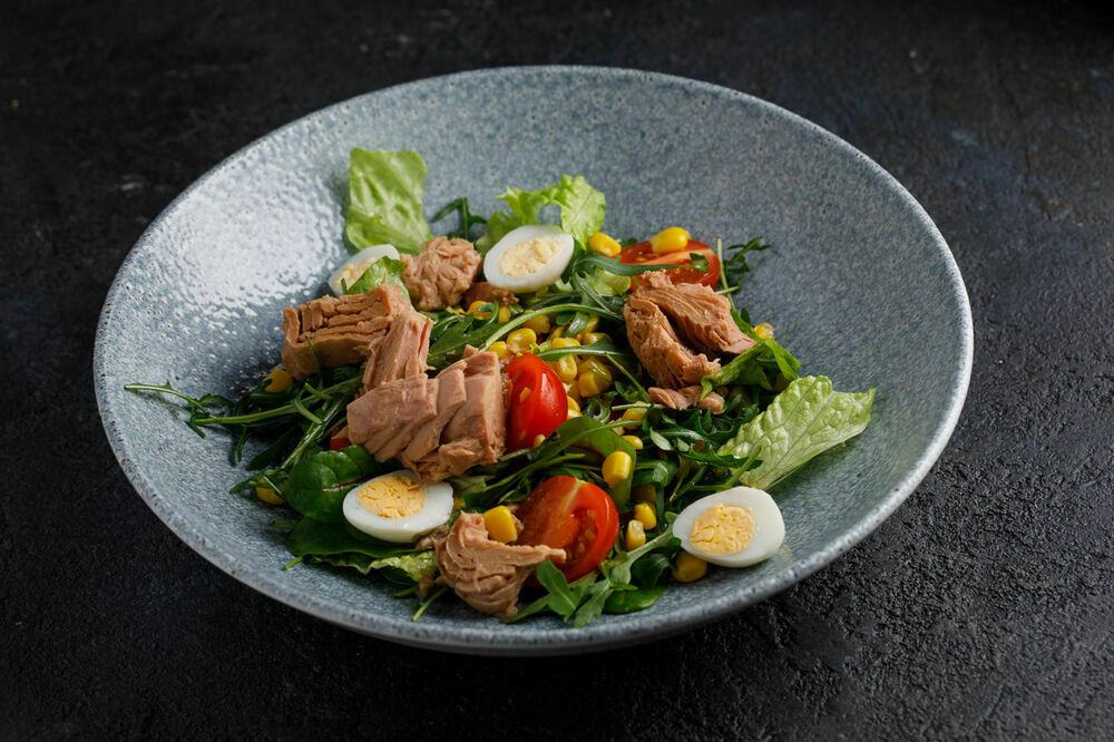 Italian salad with tuna