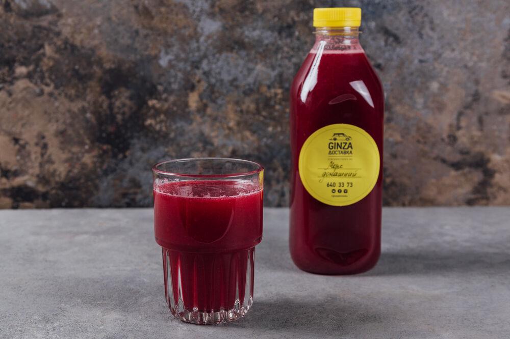 Black currant fruit-drink 1 liter