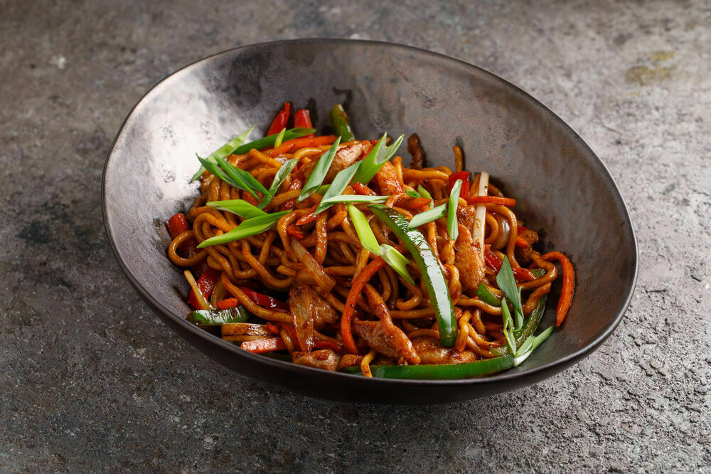 Chao-Mein noodles with chiken