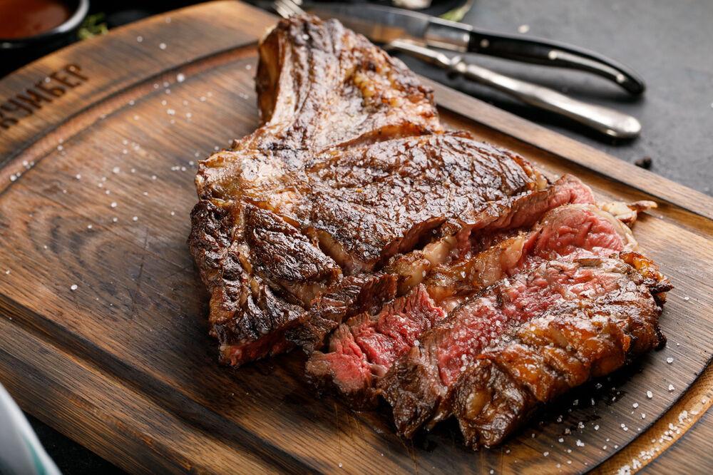 Steak Ribay on the bone