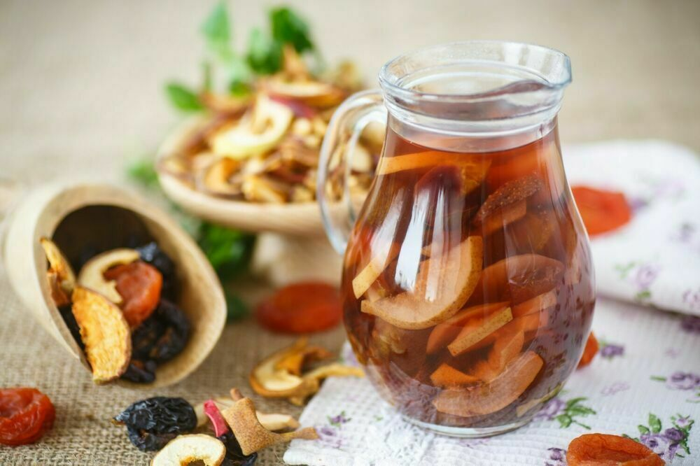 Compote of dried fruits 500 ml