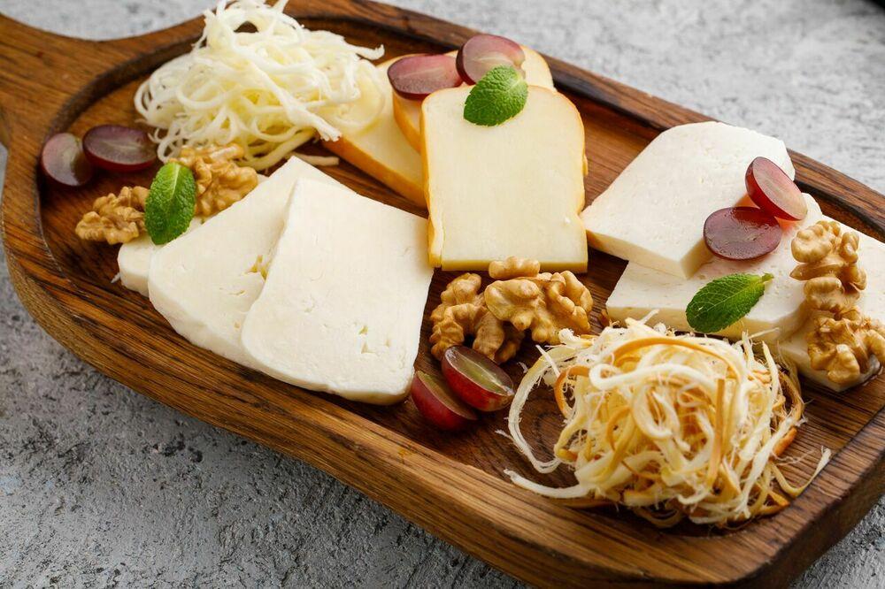 Assorted Georgian cheese