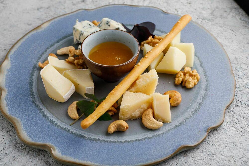 Assorted European cheese