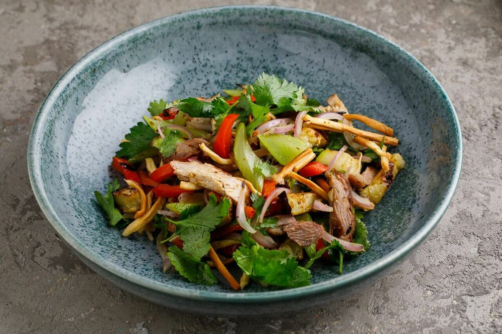 Grilled salad