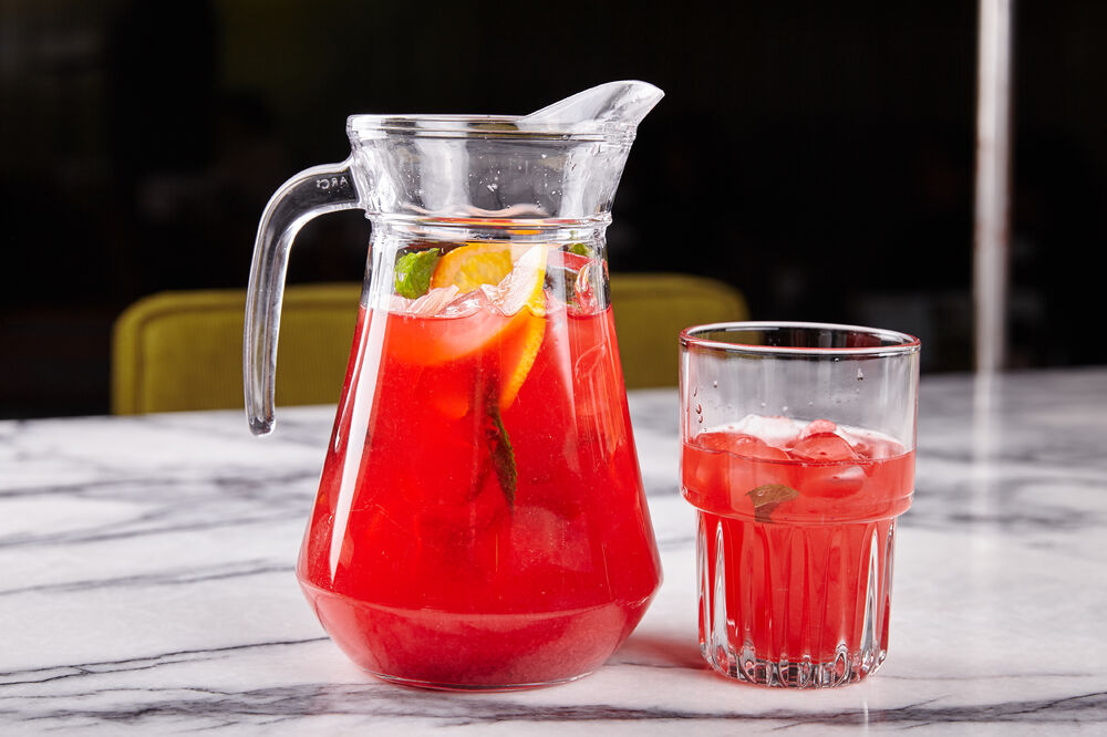 Stawberry lemonade 1 liter