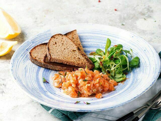 Tartar of salmon