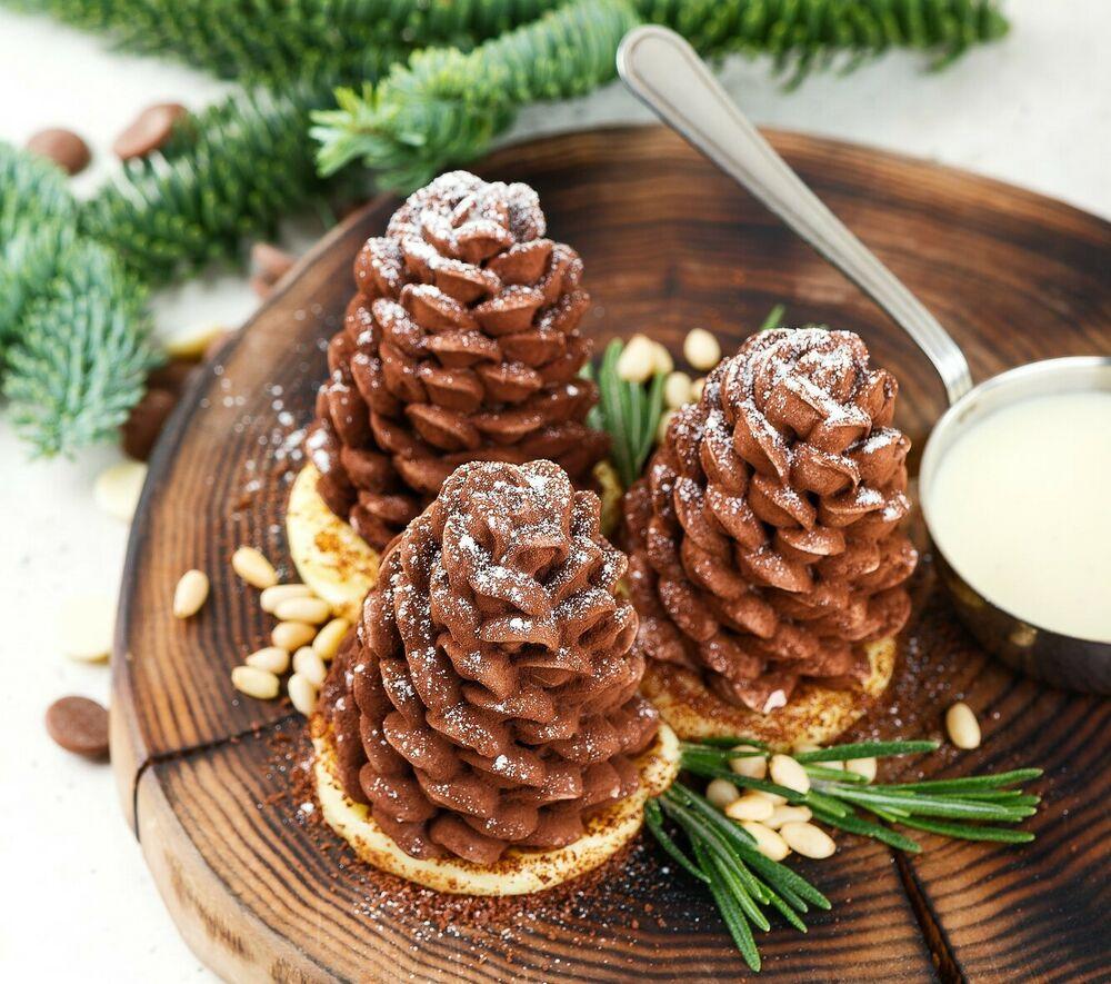 Dessert Pine Cones