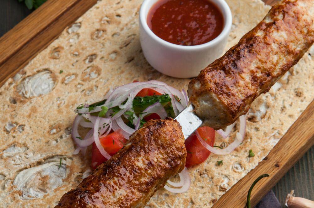 Chicken lulah-kebab