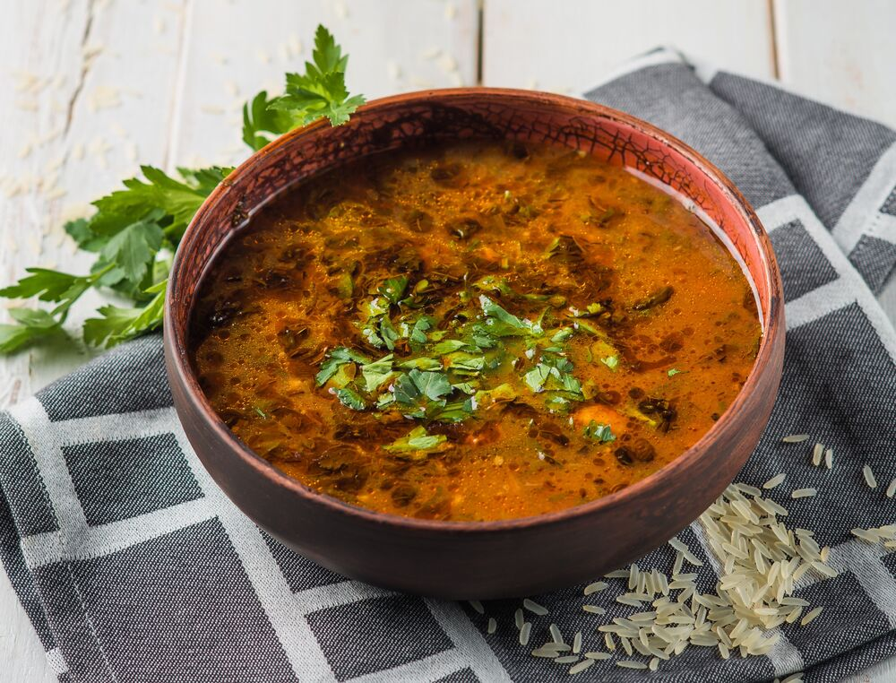 Kharcho soup with mutton