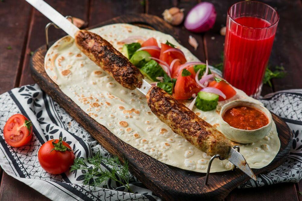 Chicken lyulya-kebab