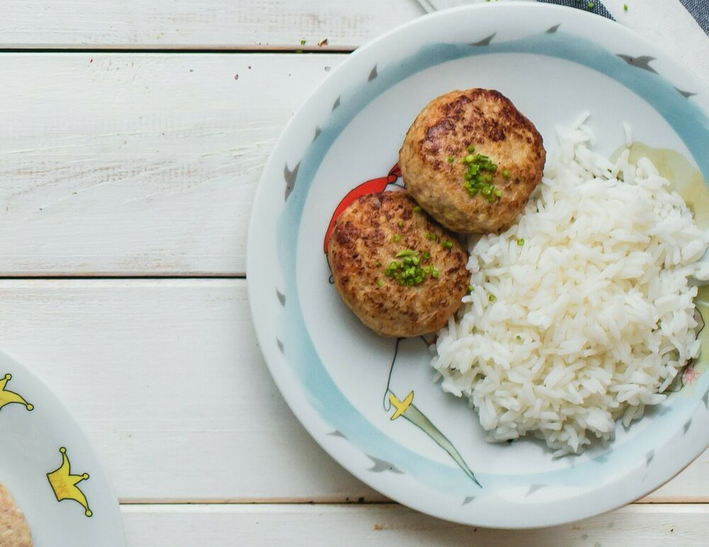 Cutlets from turkey