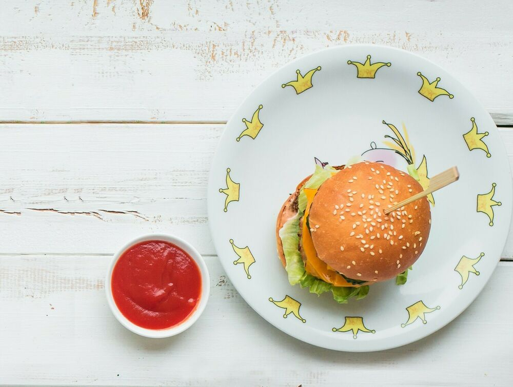 Moko burger with chicken