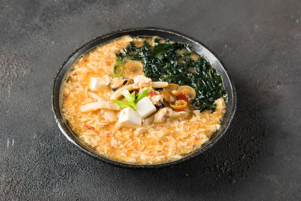 Spicy soup Kimchi
