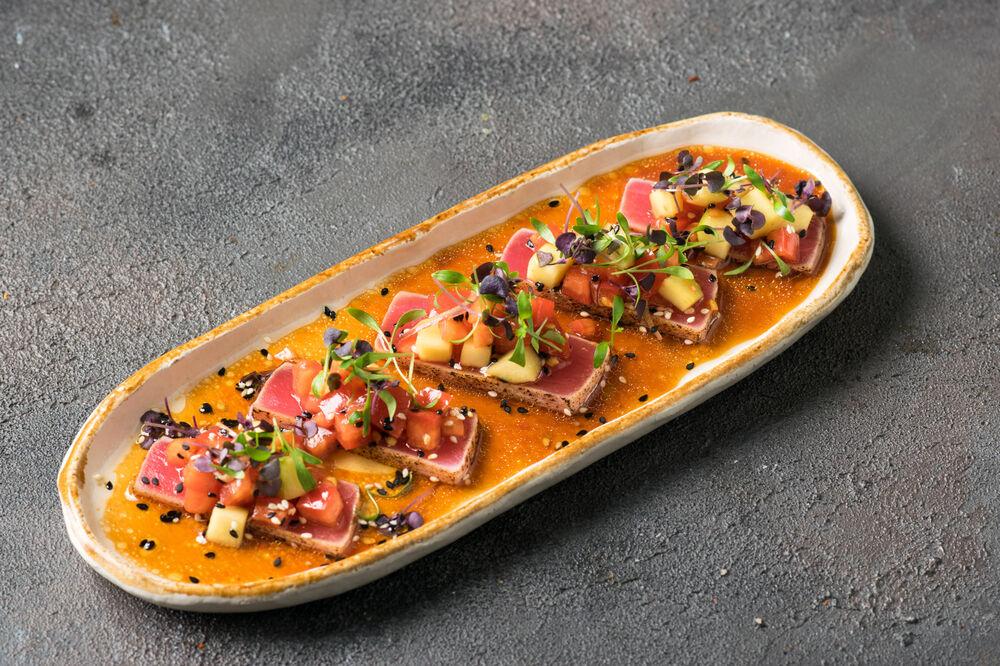 Tuna New-Style sashimi
