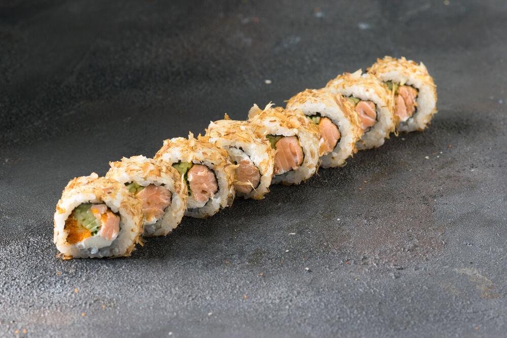 Salmon Bonito rolls