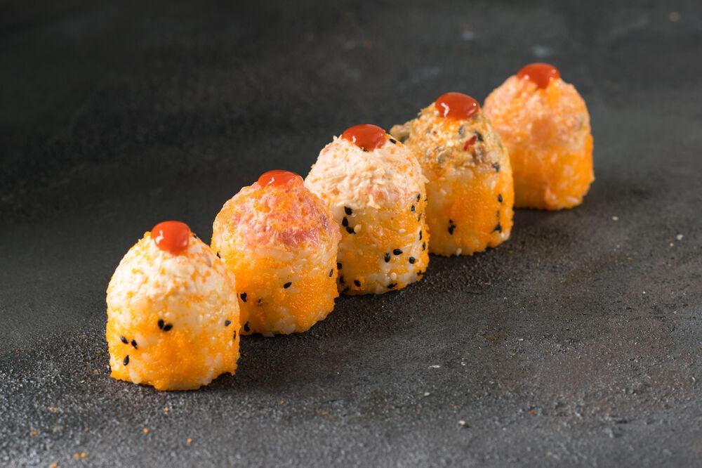 Sharp rolls in Samurai sesame
