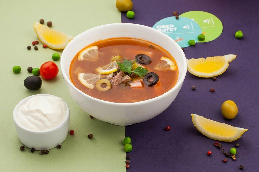 Solyanka soup
