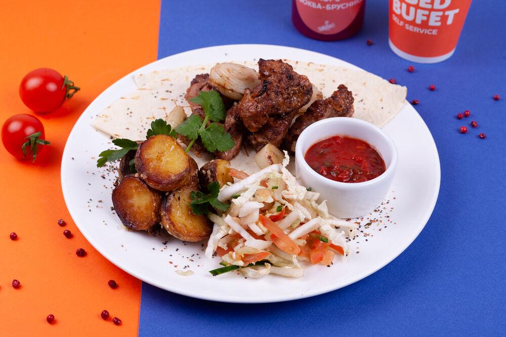 Рork shish kebab