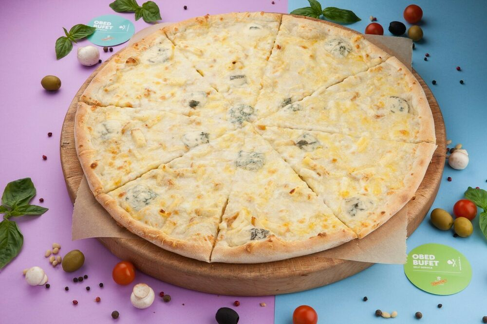 Pizza 4 cheeses 45 cm