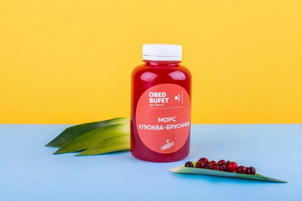 Cranberry-cowberry fruit drink 250 мл