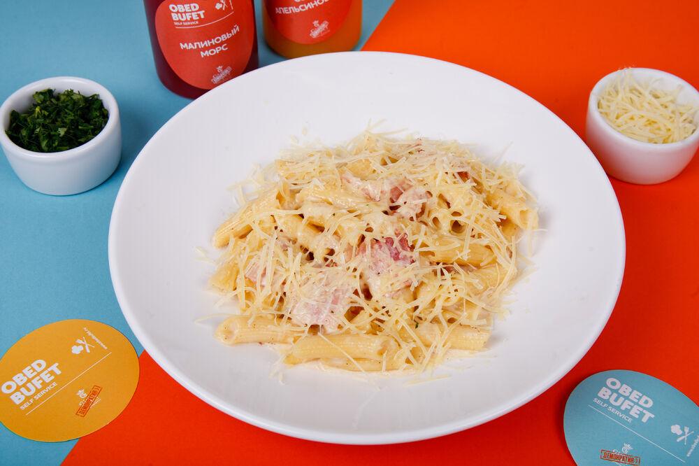 Pasta with the Carbonara sauce