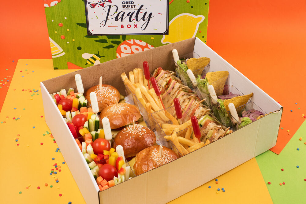 "Party box ""Cheat meal"""