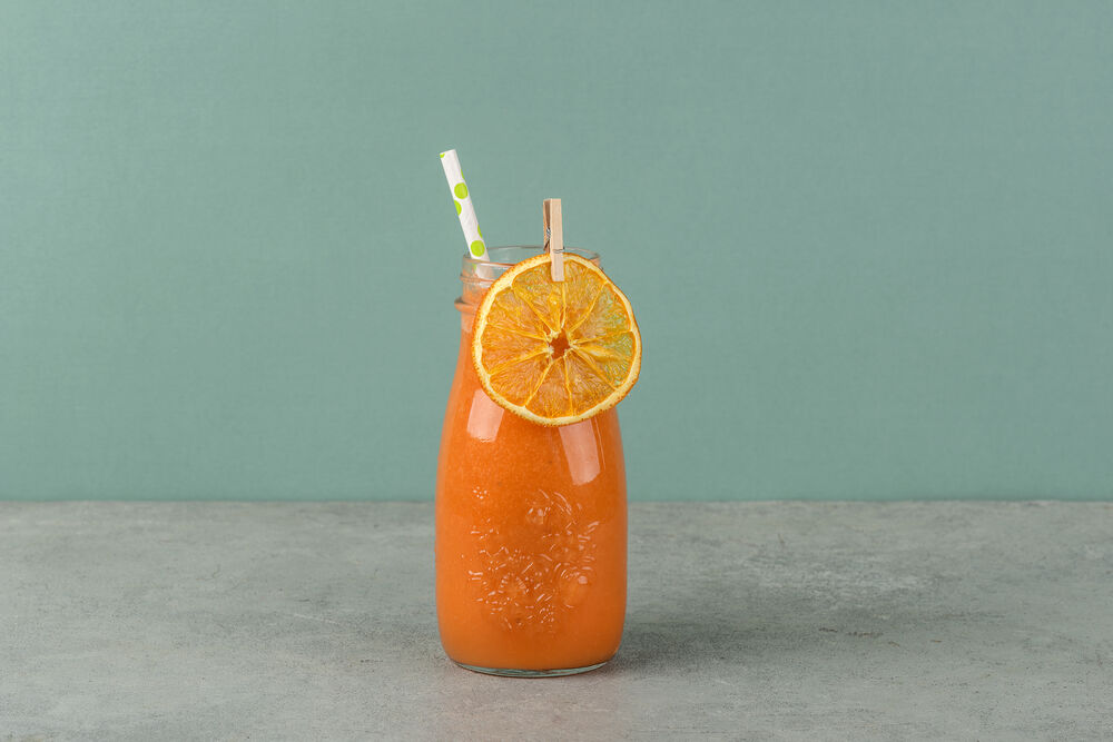 Smoothie orange-carrot