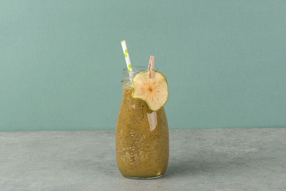 Smoothie, kiwi-Apple