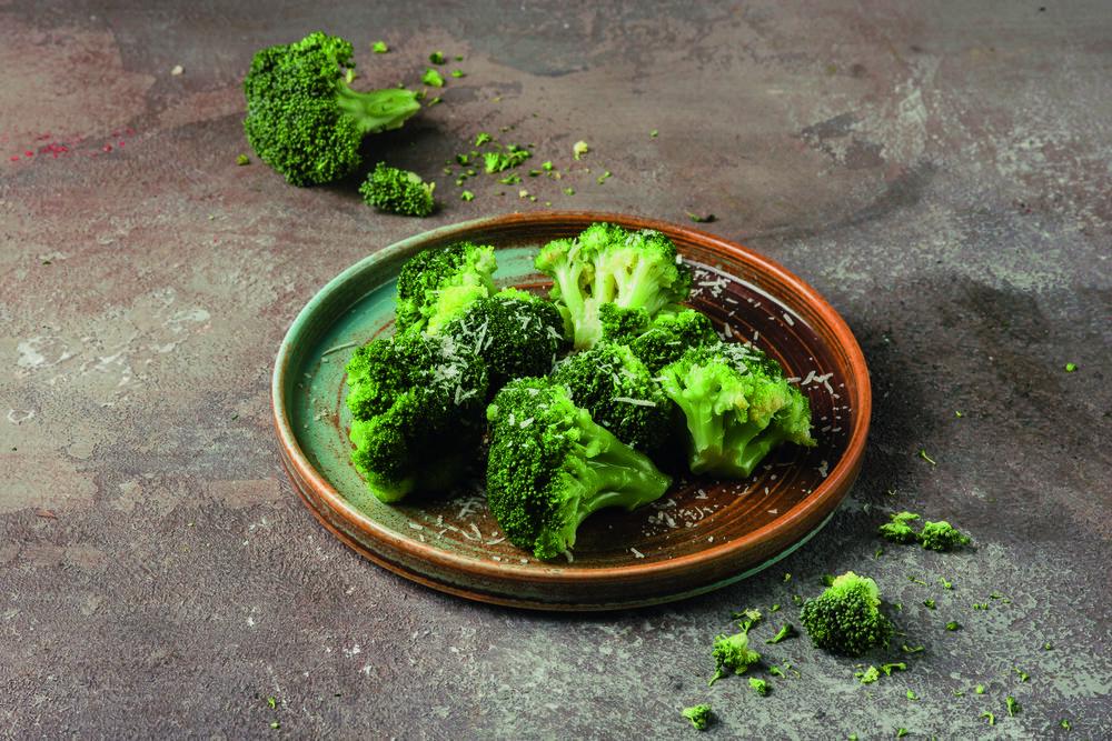 Stuffed broccoli with Parmesan