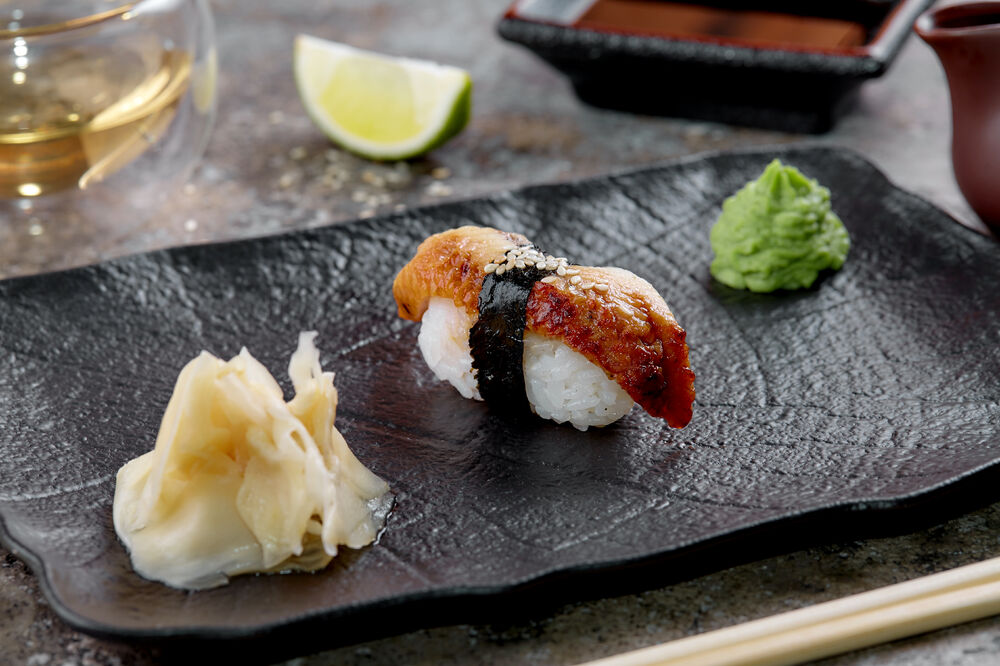 Sushi eel