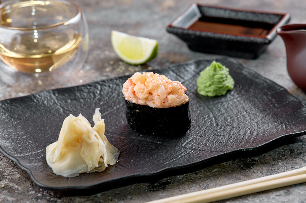 Spicy sushi shrimp