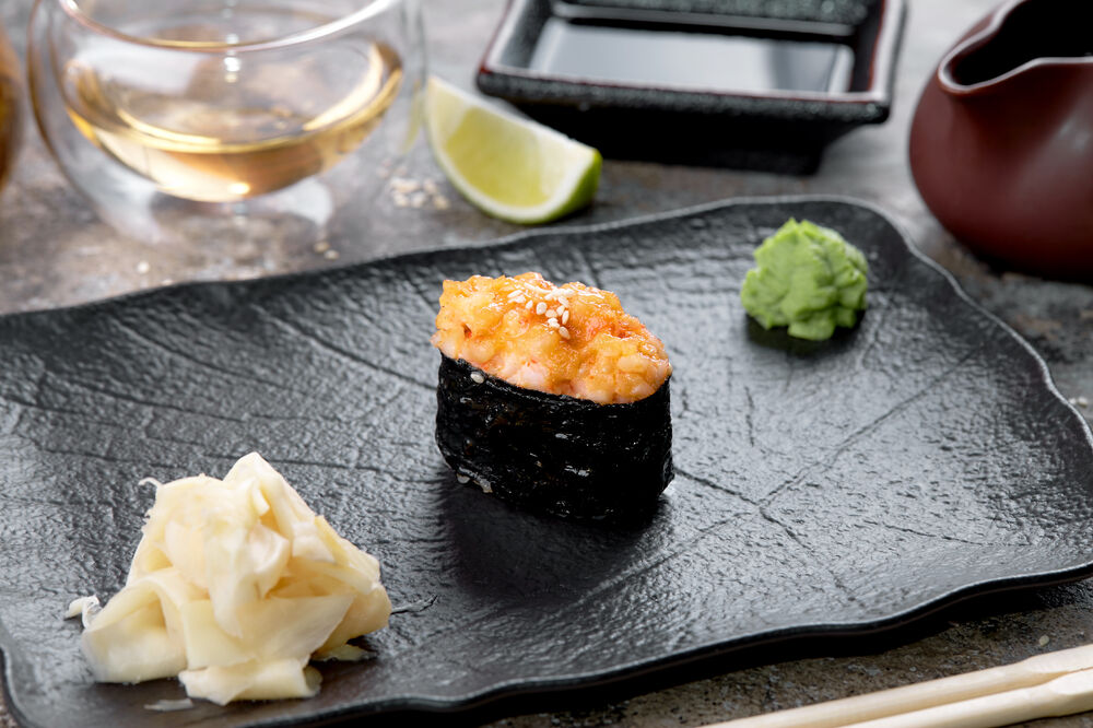 Baked sushi tuna