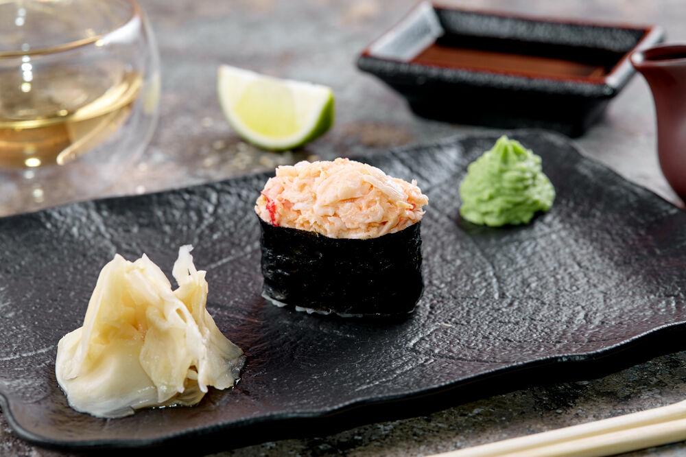 Spicy sushi crab