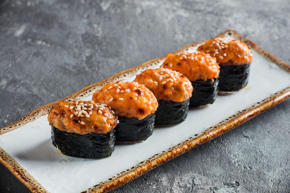 Baked sushi set