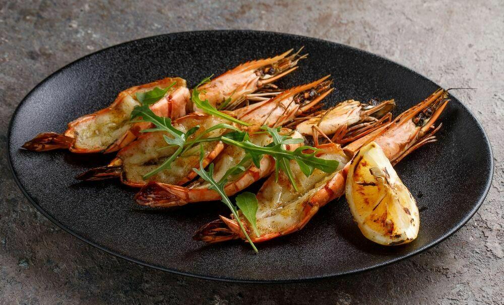 King prawns (100 g)